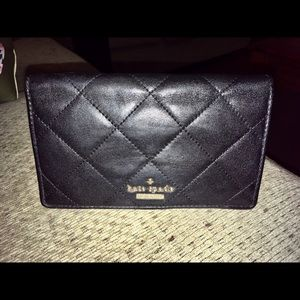 Kate Spade Quilted Leather Wallet